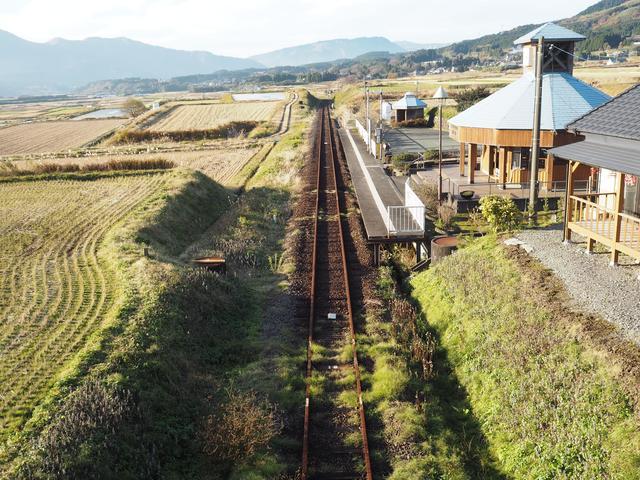 画像: こちらの駅は未だ不通となっています
