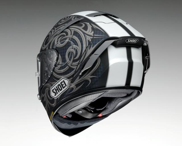 画像2: SHOEI X-Fourteen KAGAYAMA5(GREY/BLACK ※マットカラー)