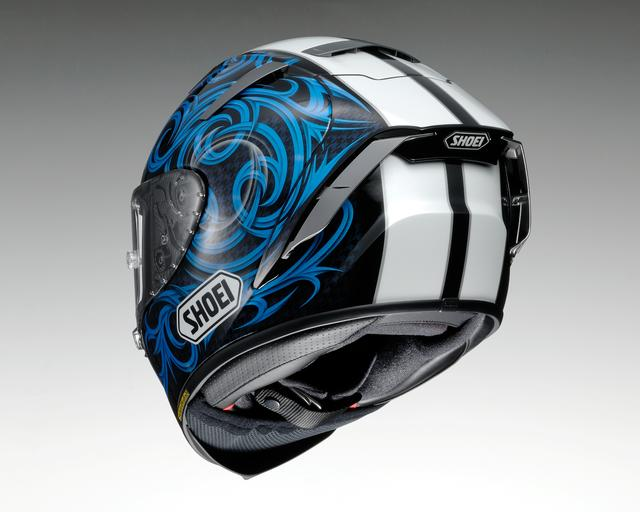 画像2: SHOEI X-Fourteen KAGAYAMA5(BLUE/BLACK)