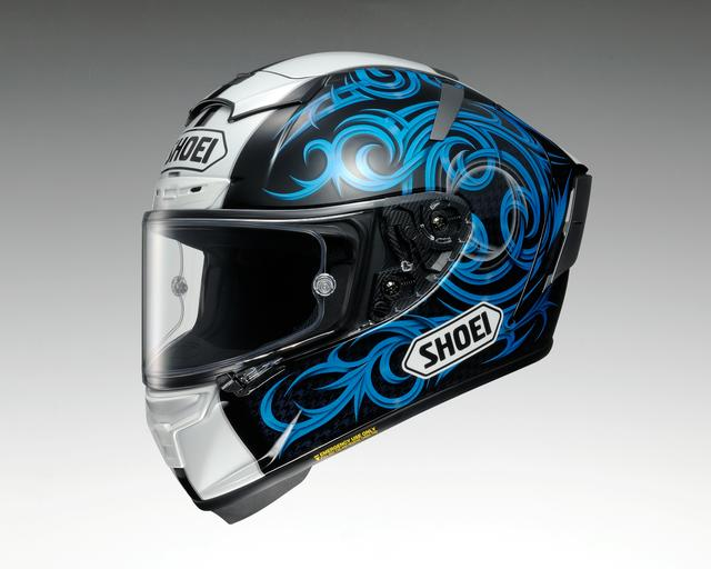 画像1: SHOEI X-Fourteen KAGAYAMA5(BLUE/BLACK)