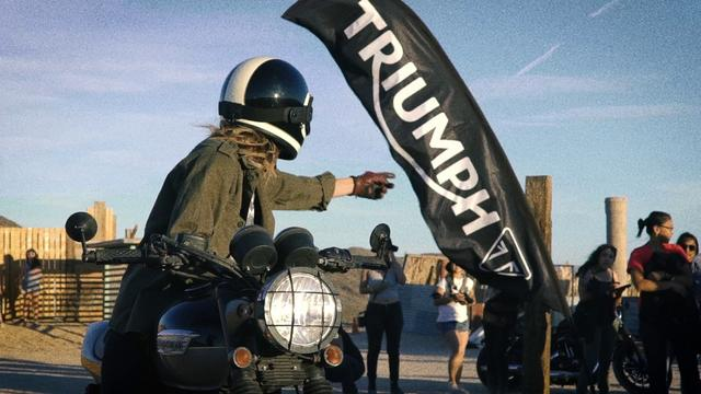 画像: Triumph presents: Babes Ride Out 4 youtu.be