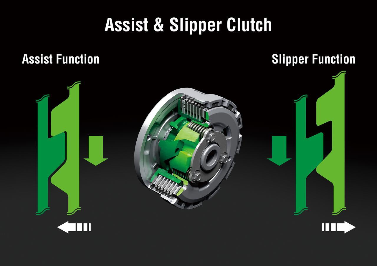 画像: バックトルクリミッター機構を備えるアシスト&スリッパークラッチを採用。操作も軽くなっている。