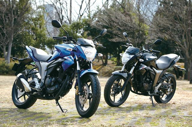 画像: 左)トリトンブルーメタリック 右)グラススパークルブラック 316,440円(税込)