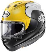 画像: アライヘルメットからリリースされている「キング・ケニー」ことケニー・ロバーツ氏のレプリカヘルメット。フルフェイスの「RX-7X」と、オープンフェイスの「SZ-Ram4」に設定あり。