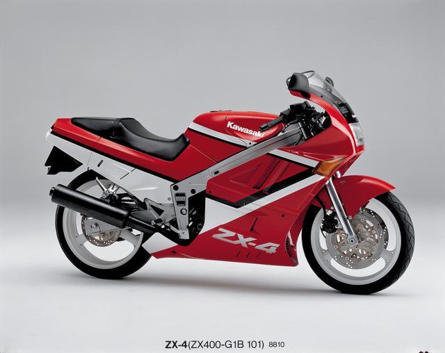 画像: カワサキ初の4スト400レーサーレプリカ!