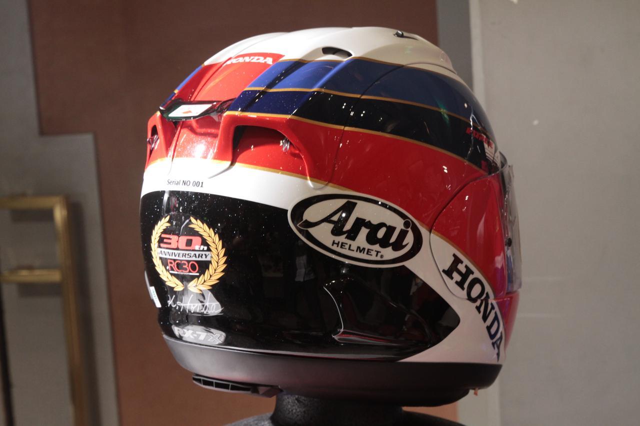 画像3: ホンダのアパレル品発表会で、新作ヘルメット登場!