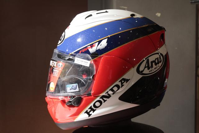 画像2: ホンダのアパレル品発表会で、新作ヘルメット登場!