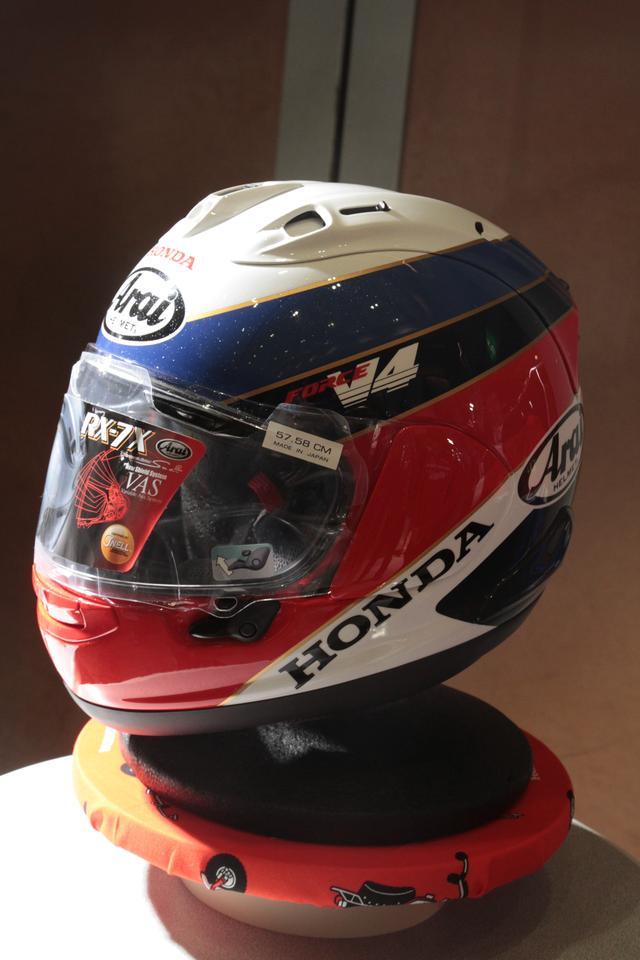 画像5: ホンダのアパレル品発表会で、新作ヘルメット登場!