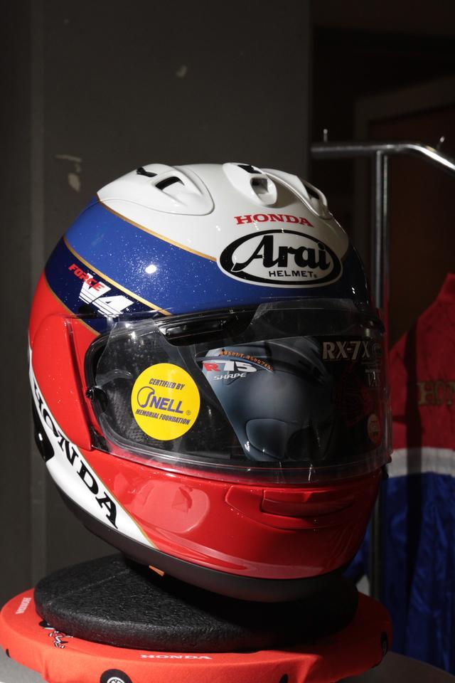 画像1: ホンダのアパレル品発表会で、新作ヘルメット登場!