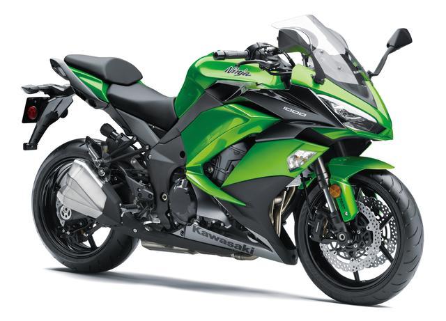 画像1: KAWASAKI Ninja 1000 ABS(キャンディライムグリーン×メタリックカーボングレー) ■税込価格:127万4400円