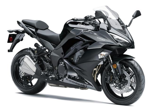 画像1: KAWASAKI Ninja 1000 ABS(メタリックスパークブラック×メタリックグラファイトグレー) ■税込価格:127万4400円