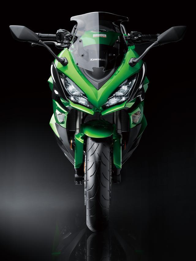 画像1: 車体の内外に渡り、大幅な進化を果たした新型Ninja 1000 ABS