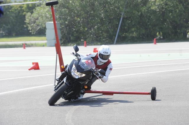 画像: これがトリガー・バイク 誰でも安全にフルバンクが味わえます!