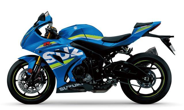 画像: 風洞実験と実走テストを繰り返して決定されたフルカウルスタイル。MotoGPマシン・GSX-RRのノウハウを活かし、高速走行時の抵抗を小さくし、ハンドリングのバランスも良くなるようなデザインに加えて、全体的に従来よりもコンパクト化を果たしている。すべてはサーキットでのパフォーマンスを高めるための選択なのだ。