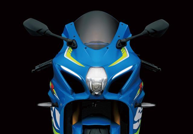 画像: フロントマスクのデザインに従来モデルのイメージを残しつつ、ミラーやレバーといった細かな点にまで配慮して空力特性を突き詰めたスタイリング。