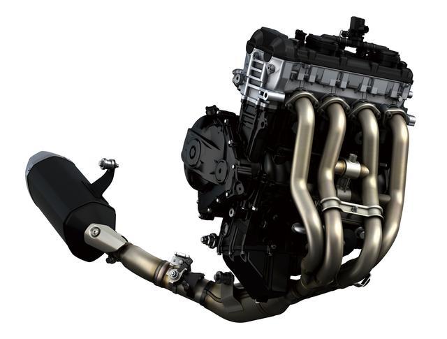 画像: 吸気側VVT、フィンガーフォロワーロッカーなどを採用した新型エンジンは、従来の74.5×57.3㎜から76.0×55.1㎜までショートストローク化。サイズも全長で22.2㎜、全幅も6.6㎜小さい。