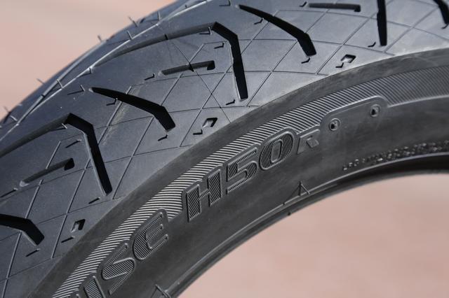 画像2: 初試乗の新型タイヤ「H50」、その実力は?