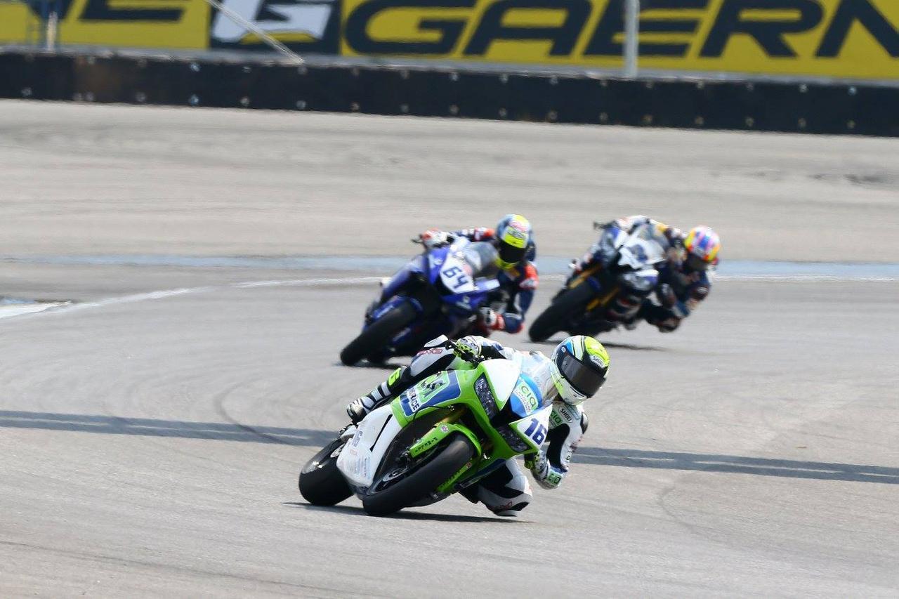 画像: 序盤からレースをリードしたクルーゼル 安定して速く、危なげなかったんだけど…