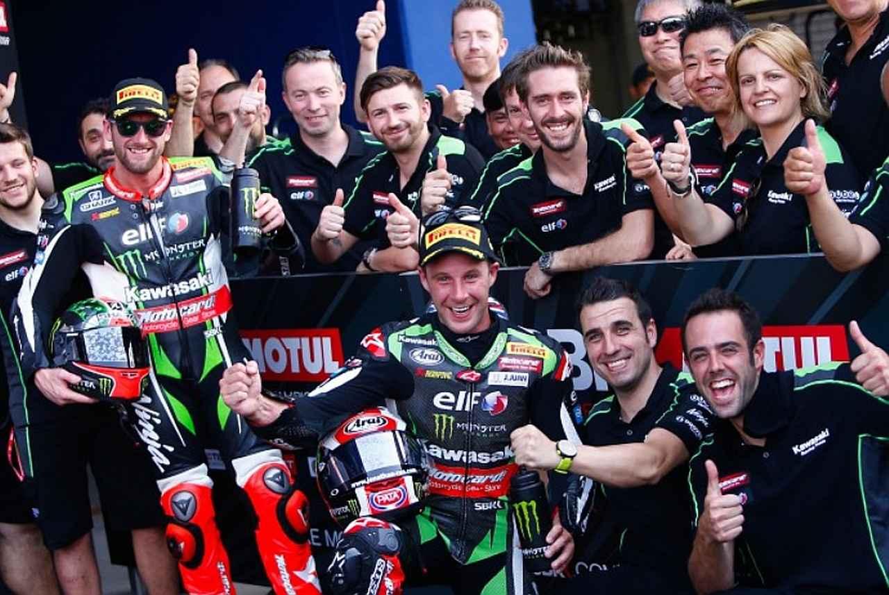 画像: 2戦4レース全勝のレイ(中央)がランキングトップ!サイクスは4レースで3回表彰台です!