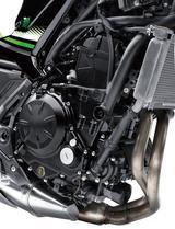 画像: アップデートされたパラレルツインエンジン。低中速回転域での力強さと、軽快なスロットルレスポンスを楽しめる。燃費の良さも特長だ。