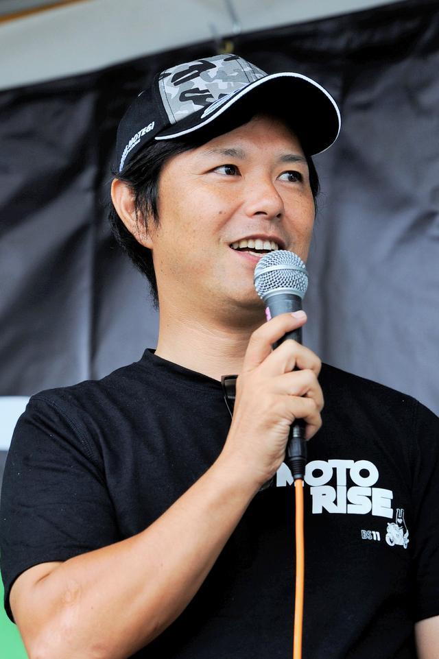 画像: ゲストに中野真矢さん