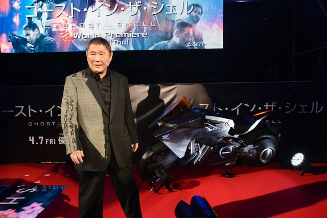 画像: ビートたけしは荒巻役で登場です。ハリウッド映画ですけど、日本語で演じてるそうですよ。
