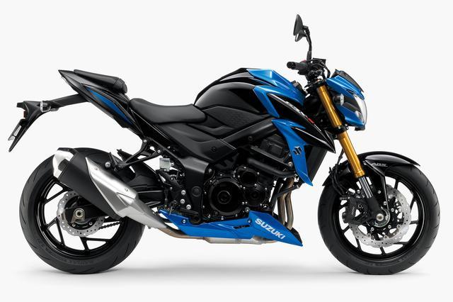 画像: SUZUKI GSX-S750 ABS(グラススパークルブラック/トリトンブルーメタリック) ■税込価格:96万9840円
