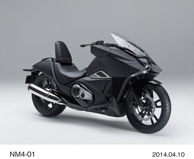 画像: HONDA NM4-01 ¥1,020,600 ¥1,042,200(カラーオーダープラン[受注生産車]) ※写真はマットバリスティックブラックメタリック