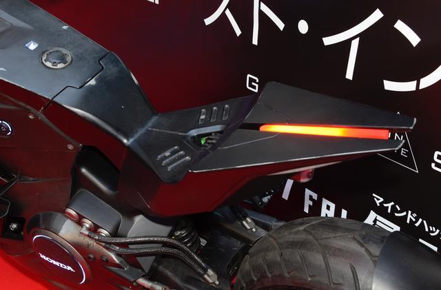 画像8: 近未来をテーマに開発されたNM4が「攻殻機動隊」の実写版でより近未来化!