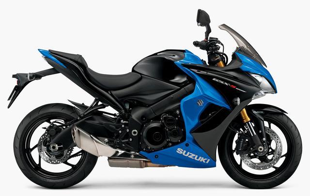 画像: SUZUKI GSX-S1000F ABS(グラススパークルブラック/トリトンブルーメタリック)