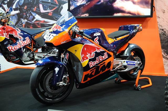 画像: まさかの登場!KTMの新MotoGPマシンRC16! ち…ちいさかったぁ!