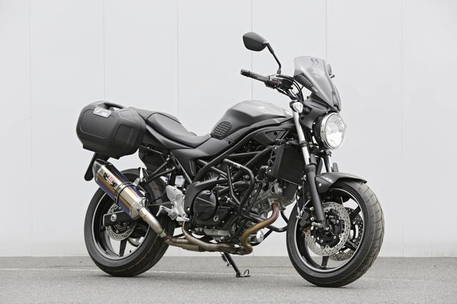 画像1: SUZUKI SV650 ABS(カスタムモデル)