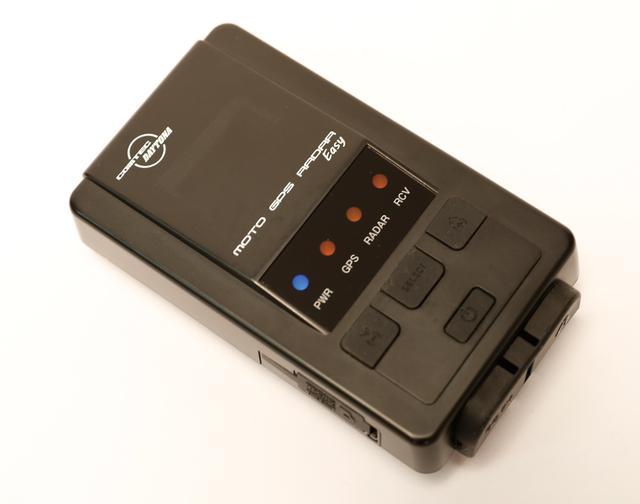 画像: LCDモニターとブルートゥース機能を省いたスタンダードモデルの『モトGPSレーダー・イージー』は2万3760円。