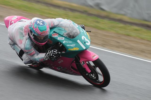 画像: 「雨は苦手じゃないので」と長谷川 明日も雨っぽいから、全日本初優勝が見える?!