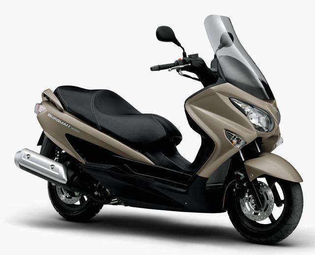 画像: 排ガス規制に対応、カラーバリエーションも変更に! 新型「SUZUKI バーグマン 200」は4月17日発売! - オートバイ & RIDE