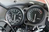 画像: ミニバイクレースでの使用を考慮し、スピードメーターを取り外してタコメーターのみにすることを前提にしたデザインのメーターパネル。スピードメーターが120㎞/hスケールなのは非オリジナル。
