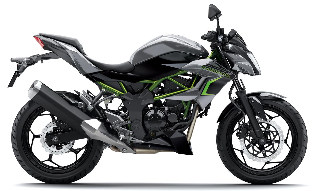 KAWASAKI Z250SL 2017 new color