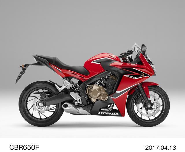 画像: HONDA CBR650F ヴィクトリーレッド 103万1400円