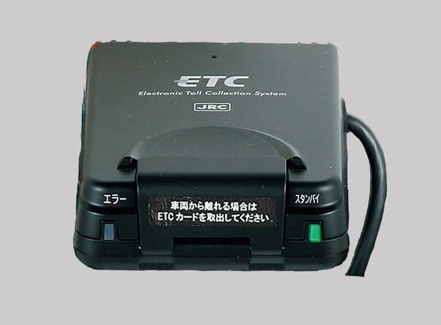 画像: 二輪ETC車載器キット(アンテナ一体タイプ) ETC本体・アンテナ・表示器を一体としたETC車載器キット。 専用の取付アタッチメントを使用しているので、確実な取り付けが可能です。