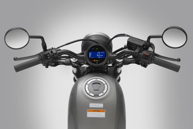 画像3: 「500」はABSを標準装備で、税込価格78万5160円!