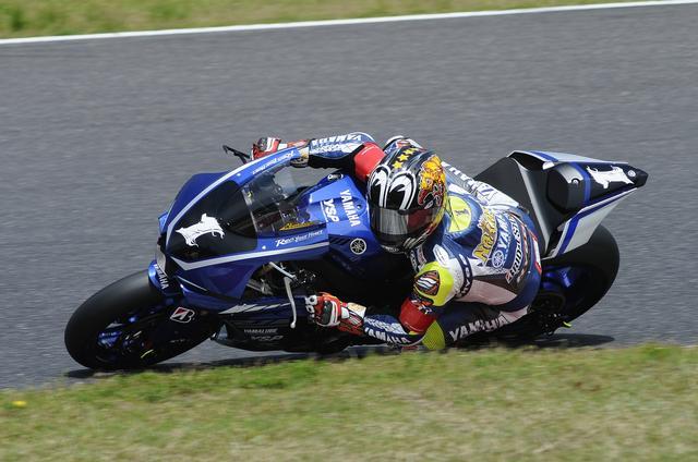 画像: レース運びも上手い、一発タイムも速い中須賀 変わらず優勝候補の筆頭です