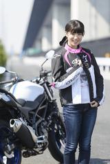 画像: ほぼ月刊「梅本まどかとオートバイ」vol.2 SUZUKI SV650 ABS