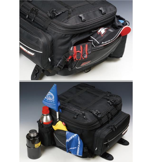 画像4: 様々な用途に対応する万能ツーリングバッグが発売に!