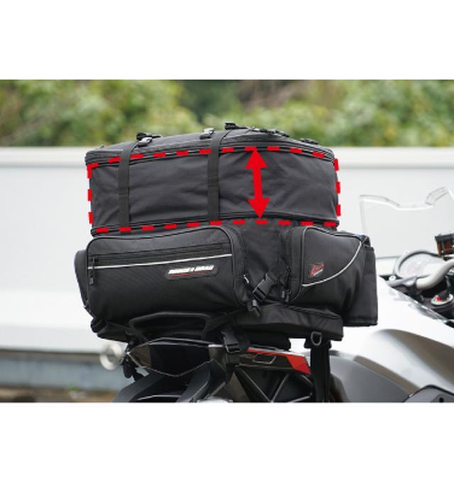 画像5: 様々な用途に対応する万能ツーリングバッグが発売に!
