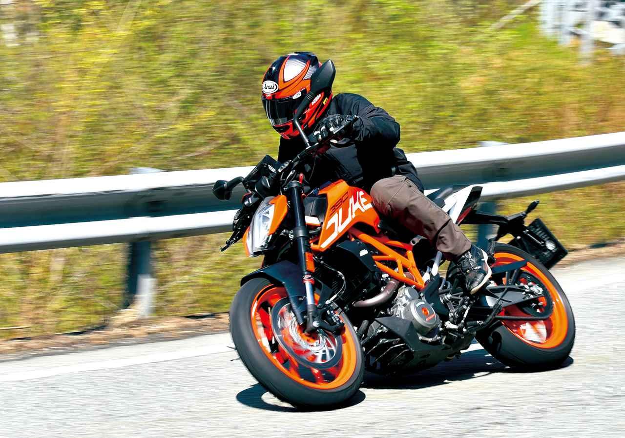 画像: <試乗インプレ>KTM 390DUKE(2017年) - オートバイ & RIDE