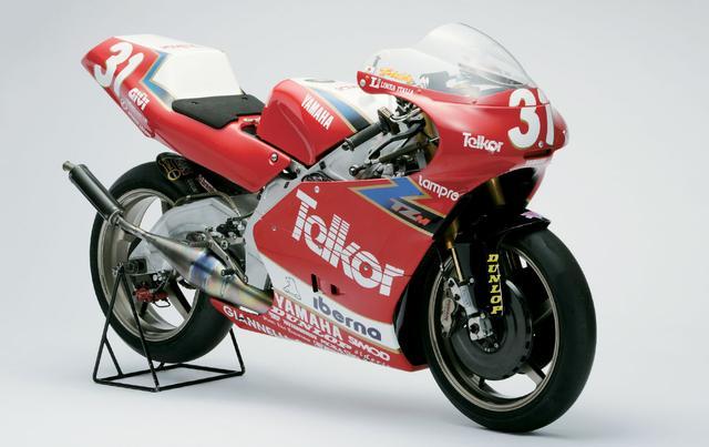 画像: 93年のGP250マシンはTZ250M この年、GP初参戦の原田哲也さんがチャンピオンになりました!