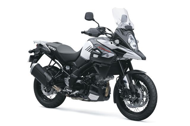画像: V-Strom 1000XT ABS 1036cc 99ps/8000rpm 1,447,200円 6月26日発売 カラー:パールグレッシャーホワイト