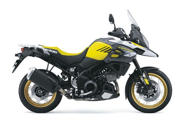 画像: V-Strom 1000XT ABS 1036cc 99ps/8000rpm 1,447,200円 6月26日発売 カラー:チャンピオンイエローNo.2