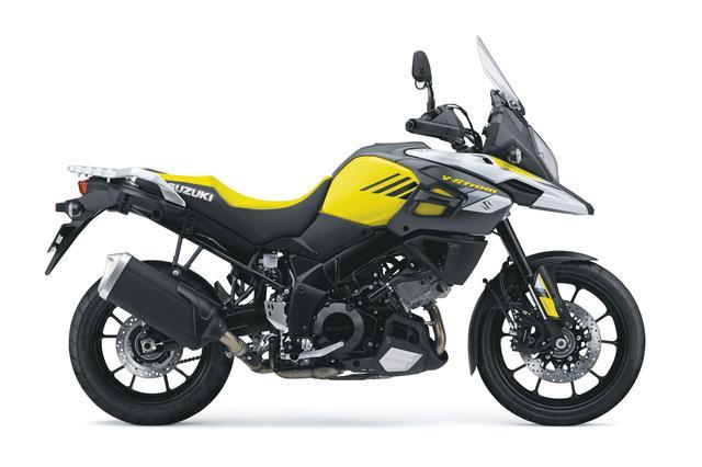 画像: V-Strom 1000 ABS 1036cc 99ps/8000rpm 1,404,000円 6月26日発売 カラー:チャンピオンイエローNo.2