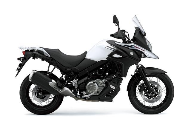 画像: V-Strom 650XT ABS 645cc 69ps/8800rpm 950,400円 5月30日発売 カラー:パールグレッシャーホワイト